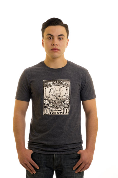 Men's Grey T-Shirt I Beaumont Hamel | Newfoundland