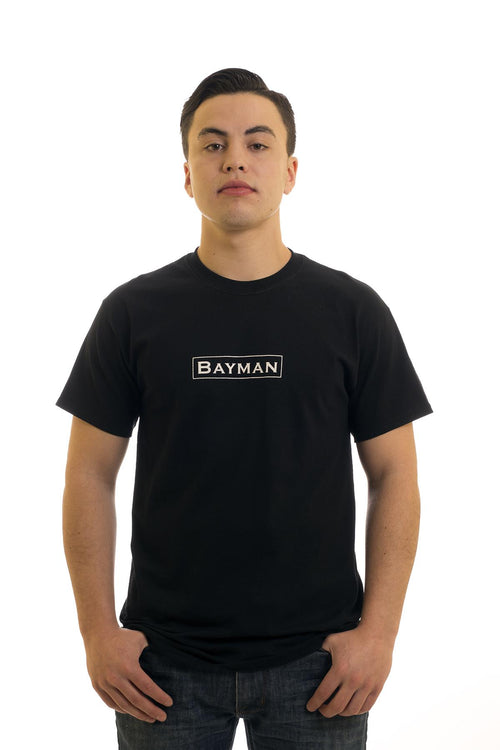 Men's Black T-Shirt I Bayman | Newfoundland | Johnny Ruth