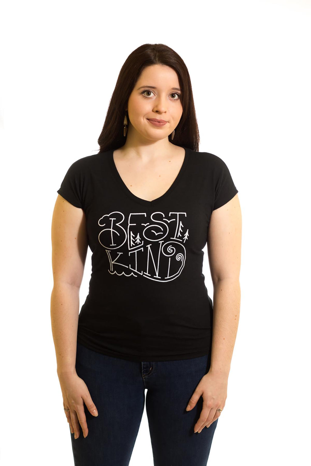 Women's Black Best Kind T-Shirt| Newfoundland | Johnny Ruth