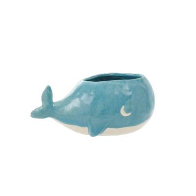 Small Whale Planter