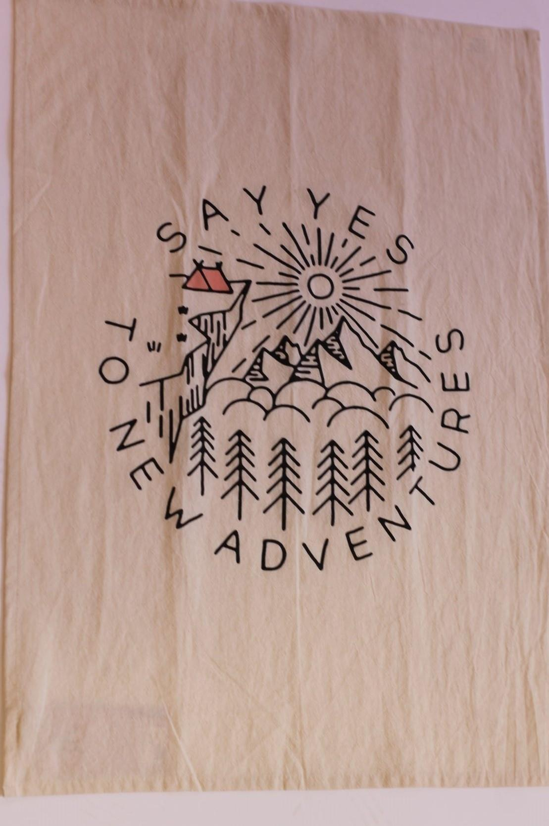 Adventure Tea Towel