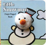 Load image into Gallery viewer, Little Snowman Finger Puppet Book