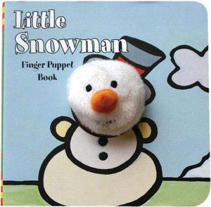 Little Snowman Finger Puppet Book