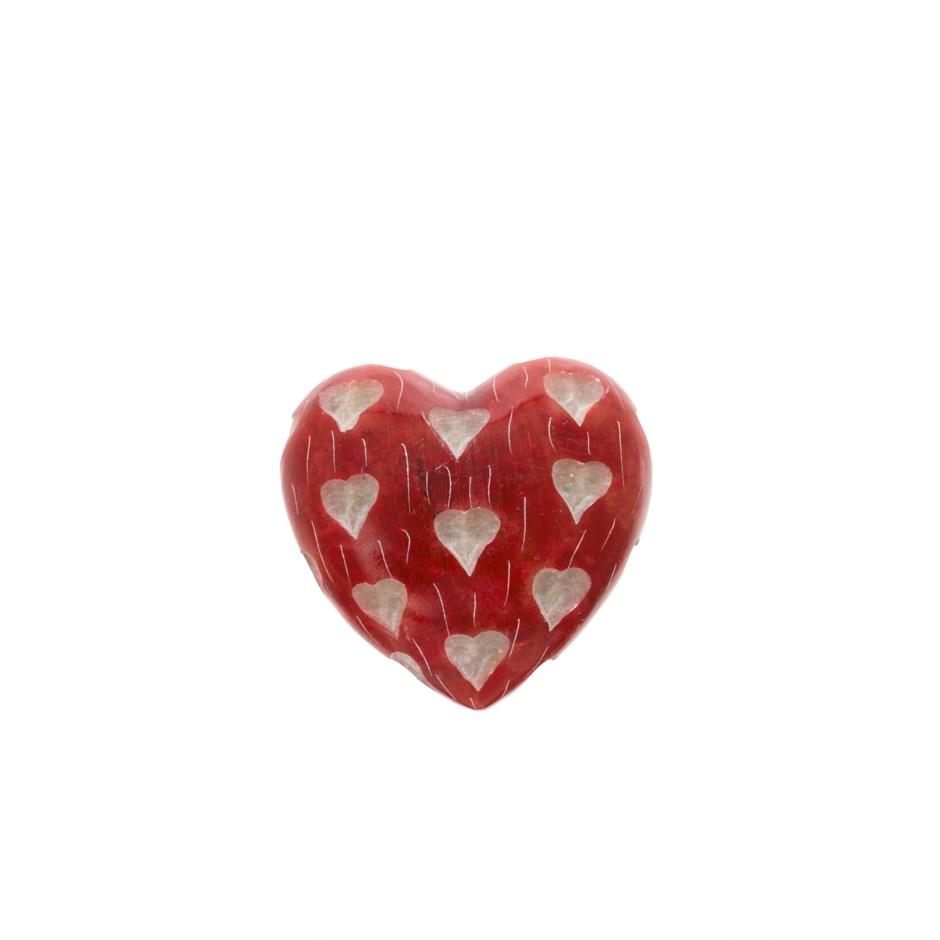 Mini Soapstone Heart