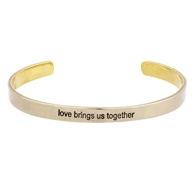 Love Brings Us Together Bracelet