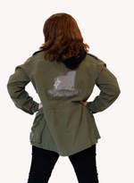 Load image into Gallery viewer, JR Signal Hill Army Jacket
