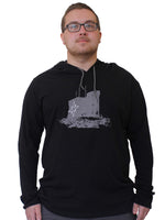 Load image into Gallery viewer, Men's Lightweight Signal Hill Star Hoodie