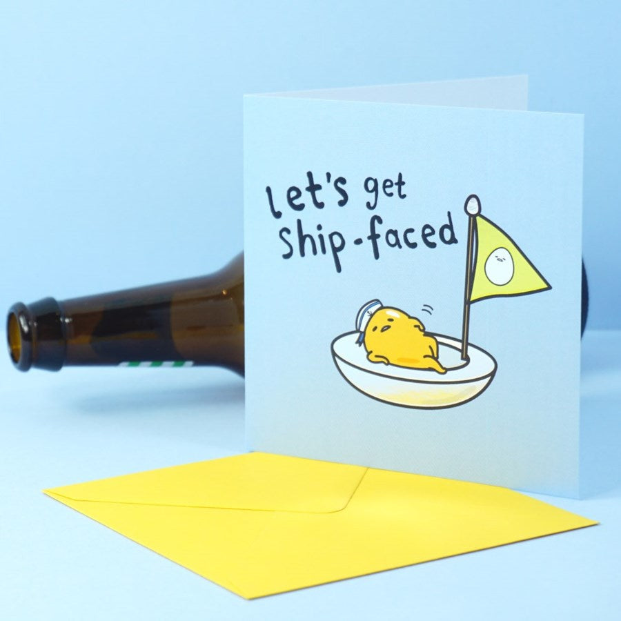 Shipfaced Card