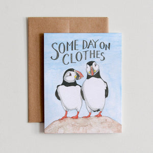 Some Day On Clothes Card