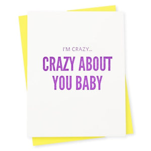 Crazy Baby Card