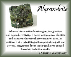 Alexandrite Crystal Remedy