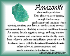 Amazonite Crystal Remedy