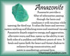 Amazonite Crystal Essence - Nature's Remedies