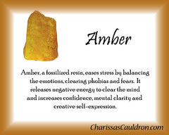 Amber Crystal Remedy
