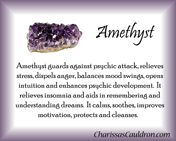 Amethyst Crystal Essence