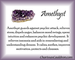 Amethyst Crystal Essence - Nature's Remedies
