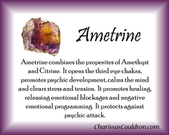 Ametrine Crystal Remedy