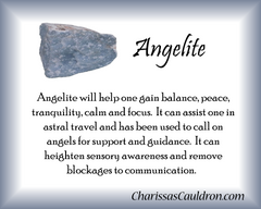Angelite Crystal Essence - Nature's Remedies