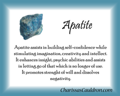 Apatite Crystal Essence - Nature's Remedies