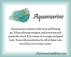 Aquamarine Crystal Remedy