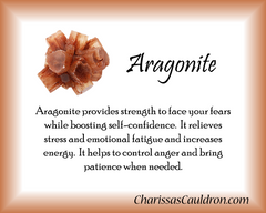 Aragonite Crystal Essence - Nature's Remedies