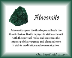 Atacamite Crystal Essence - Nature's Remedies