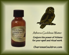 Athena Goddess Water