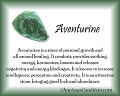 Green Aventurine Crystal Remedy