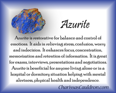 Azurite Crystal Essence - Nature's Remedies