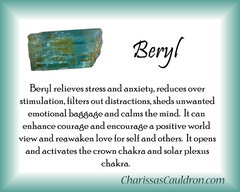 Beryl Crystal Essence - Nature's Remedies