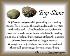 Boji Stone Crystal Remedy