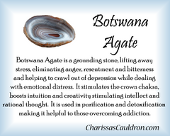 Botswana Agate Crystal Remedy