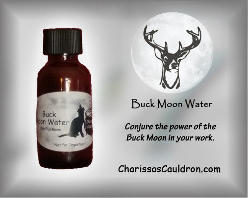 Charissa's Cauldron Buck Moon Water