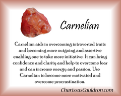 Carnelian Crystal Remedy