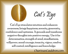 Cat's Eye Crystal Remedy