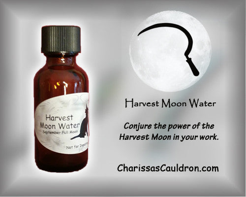 Charissa's Cauldron Harvest Moon Water