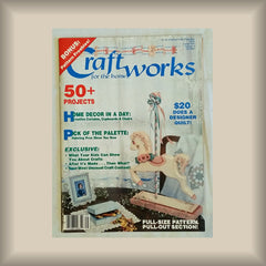 Craftworks for the Home:  January 1987