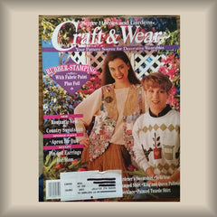 Craft & Wear:  Your Pattern Source for Decorative Wearables May 1994