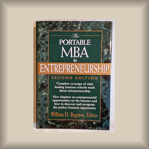 The Portable MBA in Etrepreneurship Second Edition HC