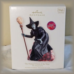 2007 Hallmark Keepsake The Wizard of Oz The Wicked Witch of the West Magic Ornament