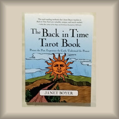 The Back in Time Tarot Book by Janet Boyer PB