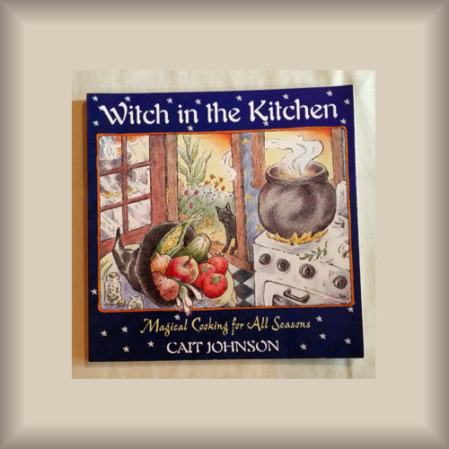 Witch in the Kitchen by Cait Johnson PB