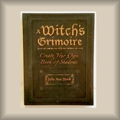 A Witch's Grimoire by Judy Ann Nock PB