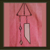 Goddess Etched Glass Chime