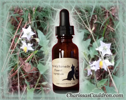 Nature's Remedies - Nightshade Flower Remedy/Essence