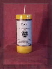Poof! Candle by Wicked Witch Mojo - Dorothy Morrison