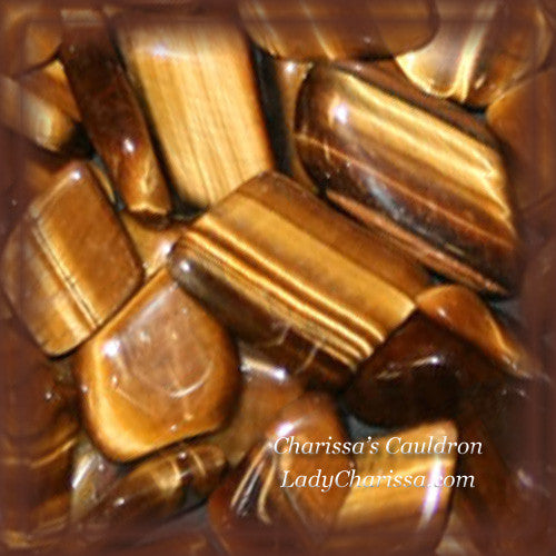 Tiger's Eye Crystal Essence