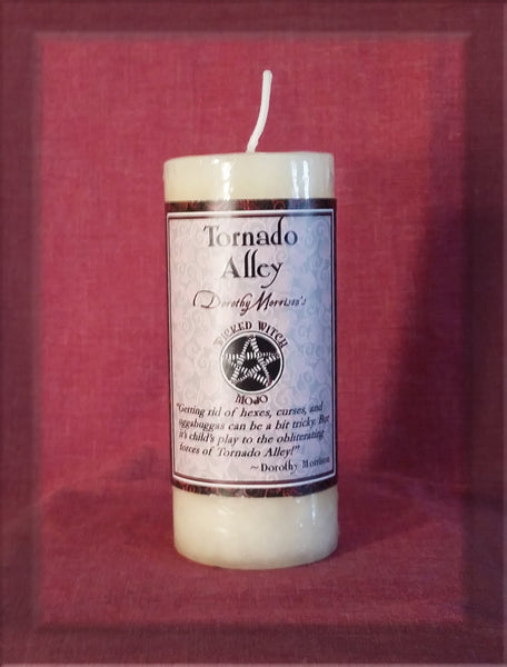 Tornado Alley Wicked Witch Mojo Candle - Dorothy Morrison - Coventry Creations