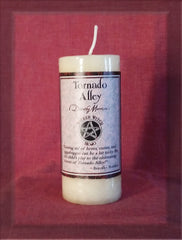 Tornado Alley Candle by Wicked Witch Mojo - Dorothy Morrison