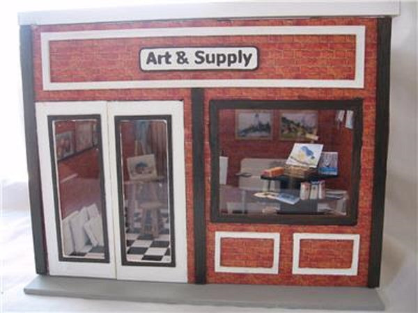 1/2 Scale Dollhouse and Other Structure Kits